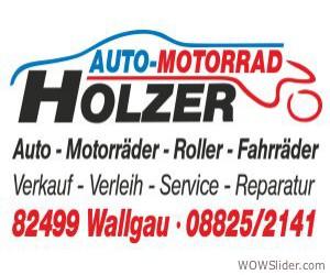Motorrad Holzer